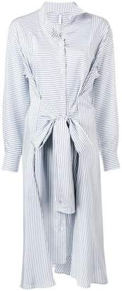 Loewe striped maxi shirt dress