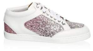 Jimmy Choo Low-top Glitter Sneaker
