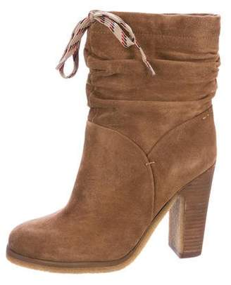 See by Chloe Wrinkle Suede Ankle Boots w/ Tags