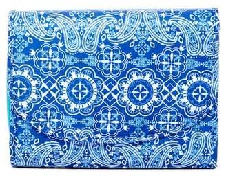 Kestrel Bandana Makeup Valet - Bright Blue