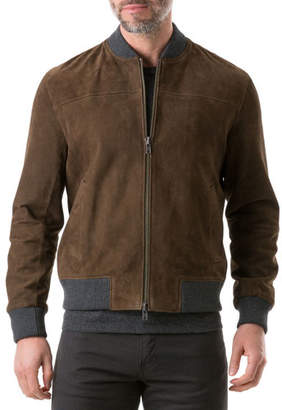 Rodd & Gunn Men's Carter's Mill Suede Jacket