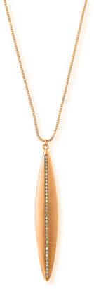 Dominique Cohen Navette Diamond Pendant Necklace in 18K Rose Gold