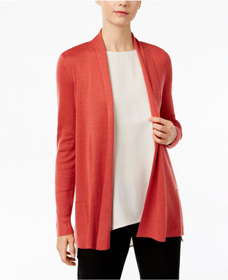 Eileen Fisher Open-Front Cardigan $248 thestylecure.com