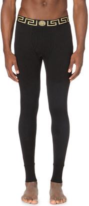 Versace Iconic stretch-cotton long john $79 thestylecure.com