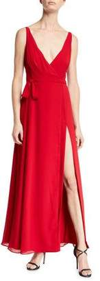 Fame & Partners The Dinah Cowl-Back Sleeveless Dress