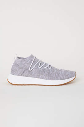 H&M Fully-fashioned Sneakers - Gray