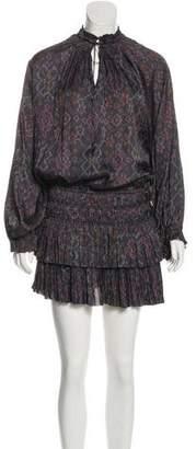 Ulla Johnson Long Sleeve Knee-Length Dress