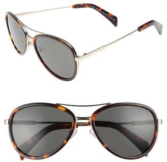 Draper James 58mm Aviator Sunglasses