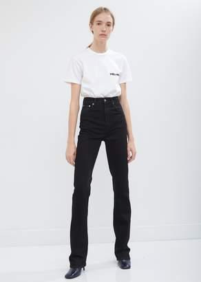 Helmut Lang Femme Hi Bootcut Jeans