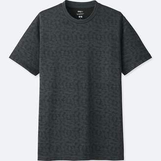 Uniqlo Men's Sprz Ny Dry-ex Short-sleeve Graphic T-Shirt