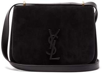 Saint Laurent Spontini small suede bag