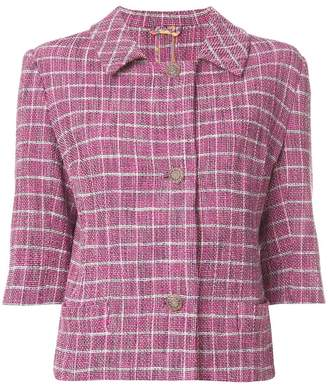 Etro fitted tweed jacket