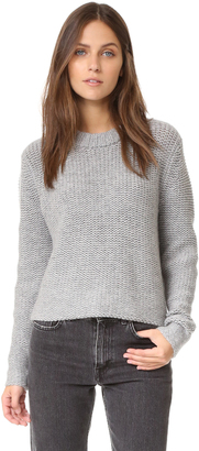 James Perse Cropped Cashmere Sweater $395 thestylecure.com