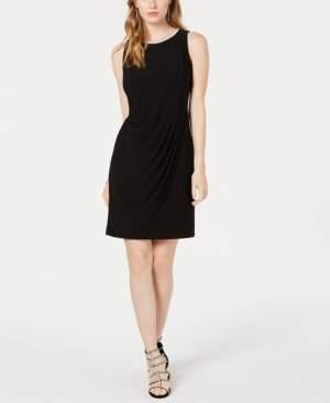 MSK Asymmetrical Embellished Dress