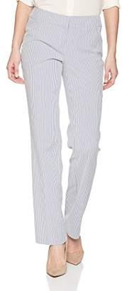 Nine West Women's Mini Stripe Trouser Pant