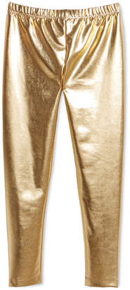 Epic Threads Big Girls Faux Leather Leggings, Created for Macy's