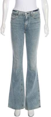 7 For All Mankind Mid-Rise Flared Jeans w/ Tags