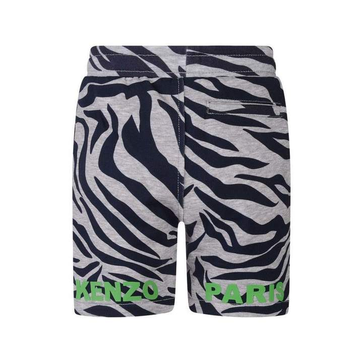 KidsBoys Grey Tiger Stripe Dex Shorts