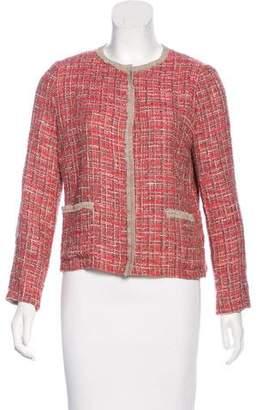 Dolce & Gabbana Tweed Snap Jacket