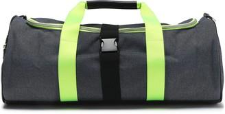Monreal London Neon-trimmed Canvas Weekend Bag