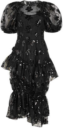 Simone Rocha Tulle Dress with Sequins