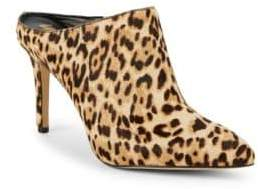 Sam Edelman Oran Animal Print Calf Hair Mules