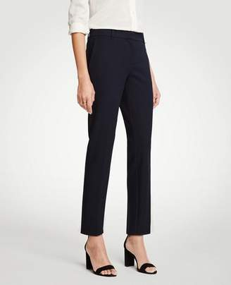 Ann Taylor The Tall Ankle Pant In Dense Twill