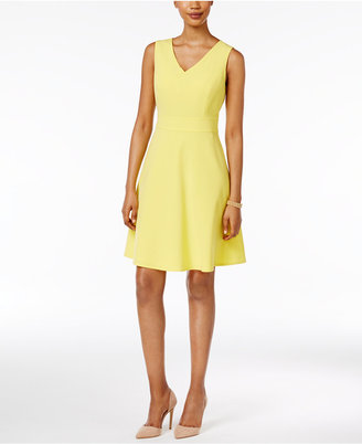 Nine West Fit & Flare Dress $89 thestylecure.com