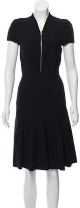 Michel Klein Cher Short Sleeve Midi Dress