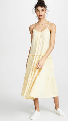 Sundry Tiered Midi Dress
