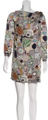 Missoni Printed Silk Dress w/ Tags