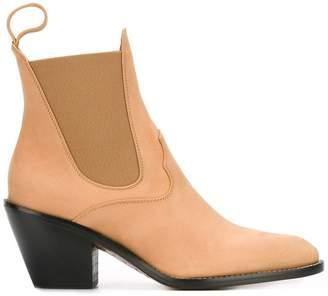 Chloé western chelsea boots