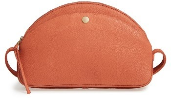 Madewell The Dakota Leather Shoulder Bag - Brown