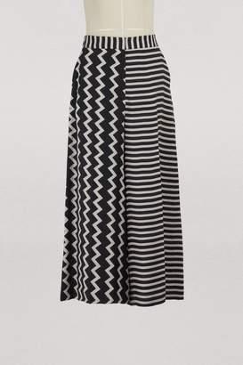 Stella McCartney Jaycee silk trousers