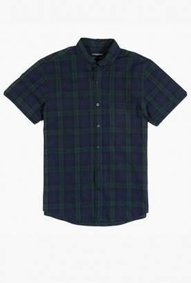 Welcome Stranger S/S Plaid Clean Seam Shirt