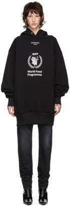 Balenciaga Black World Food Programme Hoodie