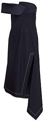 Monse Women's Twisted Asymmetrical Dress