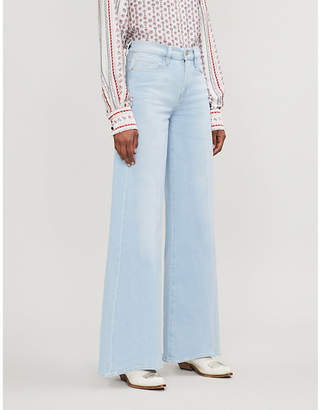 Frame Le Palazzo wide-leg high-rise jeans