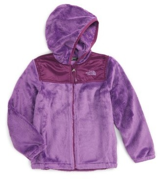 Toddler Girl's The North Face Oso Fleece Hoodie $80 thestylecure.com