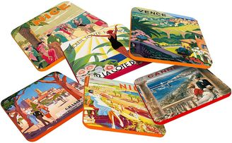 French Advert French Riviera Coaster (Set of 6)