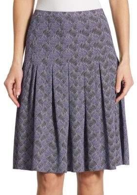 Akris Las Rocas Pleated Skirt