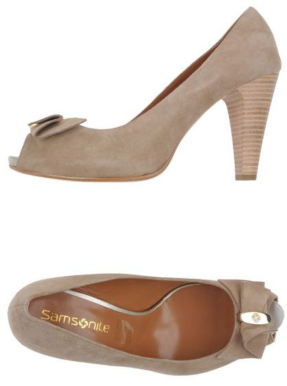 Samsonite FOOTWEAR Pumps with open toe