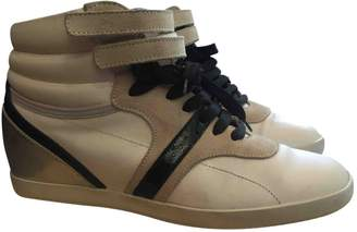 Sergio Rossi Leather trainers