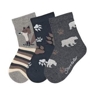 Sterntaler Boy's Sockchen 3Er-Pack Calf Socks