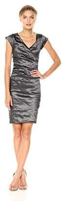 Nicole Miller Women's Beckett Techno Metal Dress