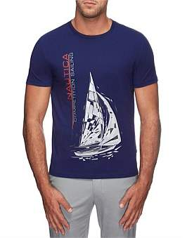 Nautica Short Sleeve Competition Sailing Tee