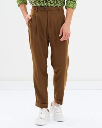 Blake Wool Pleated Trousers