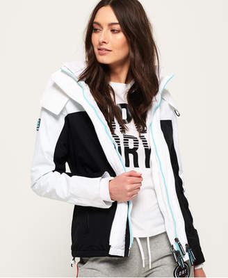 Superdry Pacific Arctic Hooded Pop Zip SD-Windcheater