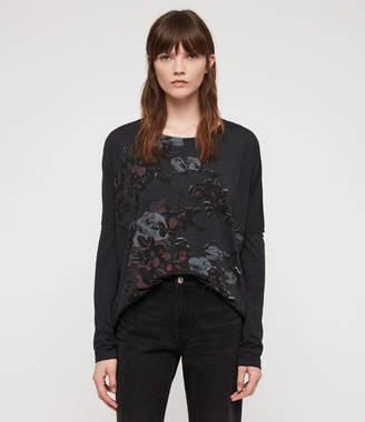 AllSaints Rhosyn Wave T-Shirt