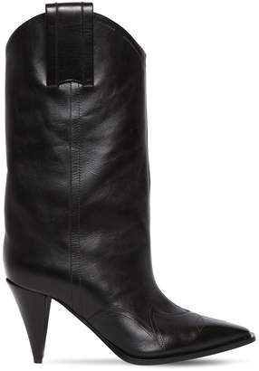 Nina Ricci 90mm Leather Cowboy Boots